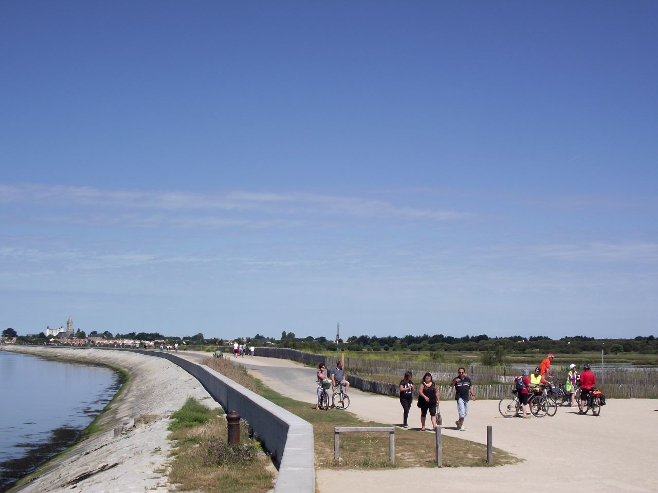 la jetée de Noirmoutier-en-l'Île