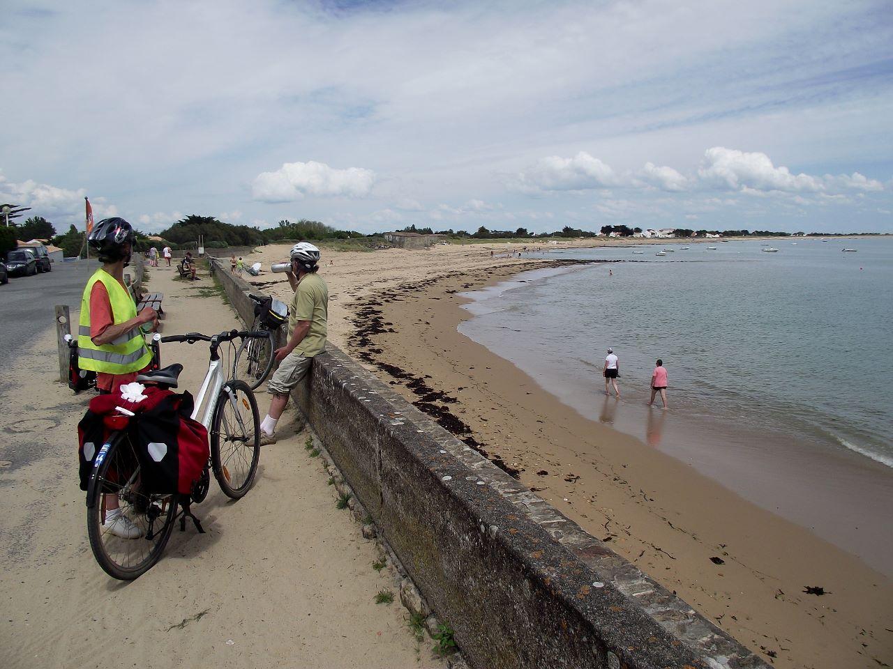 plage à Noirmoutier