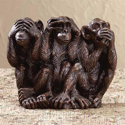 3 petits singes
