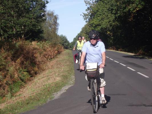 32 km46 grande route dans la foret