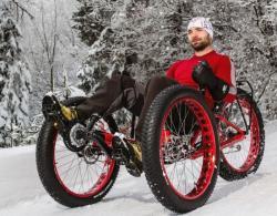 Azub fat trike velofasto snow 550