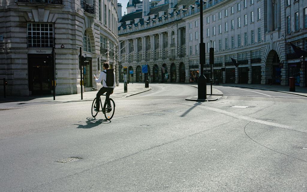 Cycliste solo