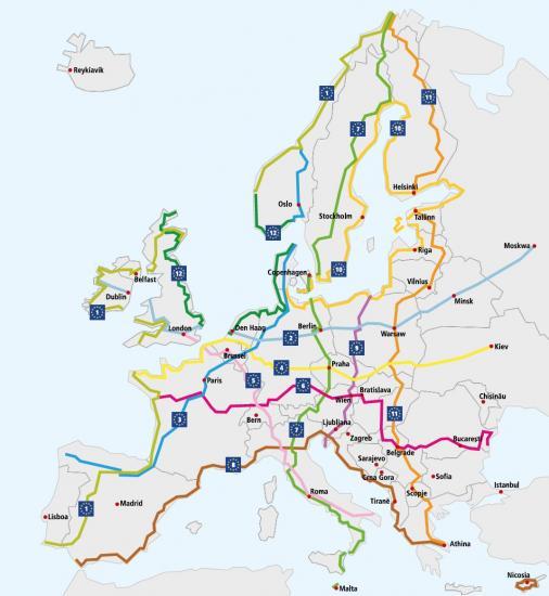 Euroroutes 1