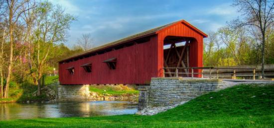 Pont couvert etats unis